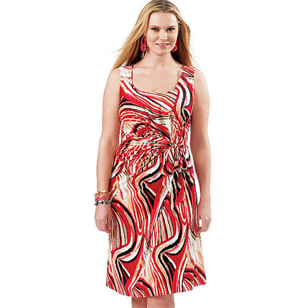 Side-draped-fitted-jersey-dress-in-Vibrant-Colours1